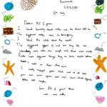 Earth Science Partnership in the Community | Pennard School Thankyou Letter