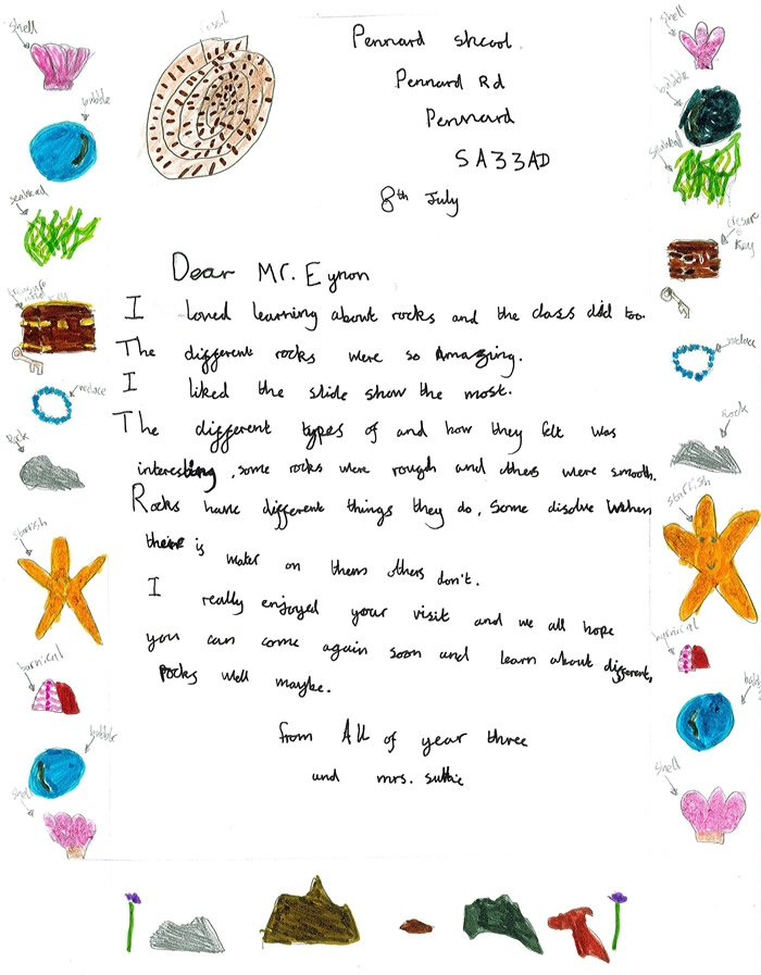 Earth science partnership in the community pennard school thankyou earth science partnership in the community pennard school thankyou letter thecheapjerseys