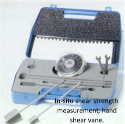 In Situ Shear Strength